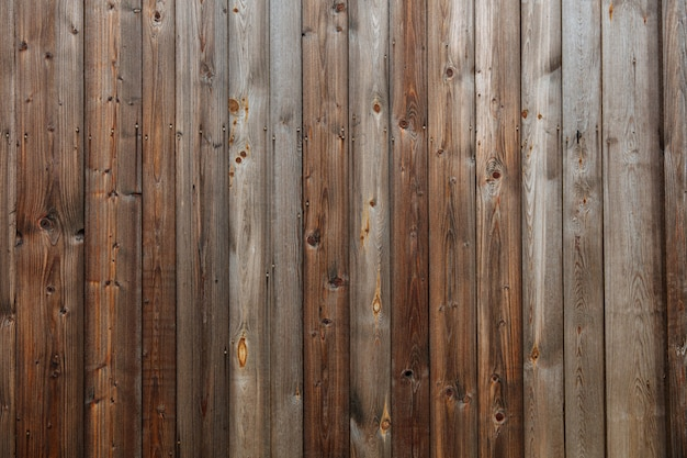 Abstract pattern of dark old wooden wall