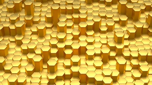 Абстрактный узор золотой фон