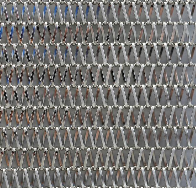 와이어 메쉬로 만든 추상 패턴