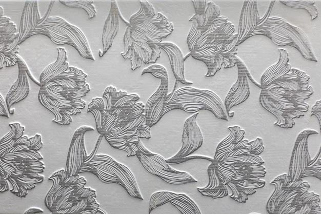 Абстрактный узор с декоративными листьями декоративной керамической плитки