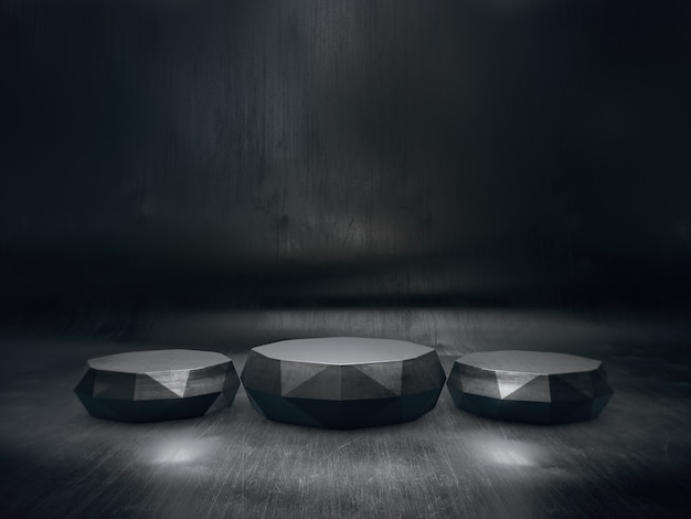 Abstract pedestal for display