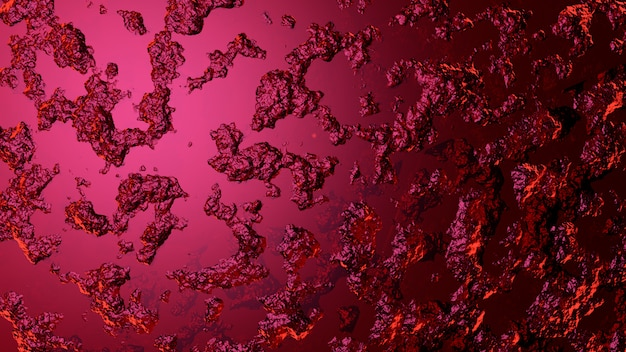 Abstract pink background 3d rendering
