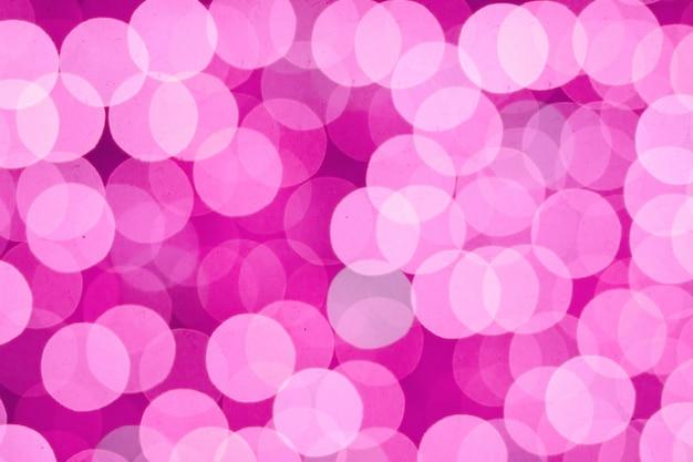 Abstract pink blur bokeh lights