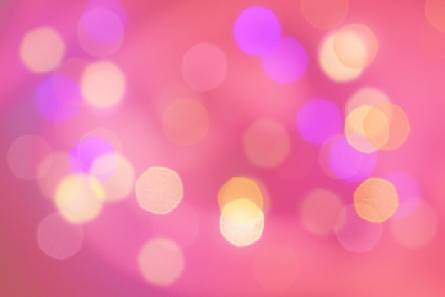 Abstract pink coral color blurred