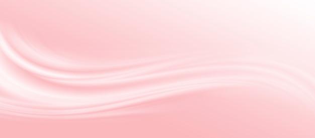 Абстрактный фон розовой ткани с копией пространства