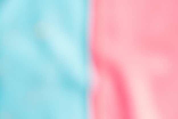 Abstract pink and green color blurred