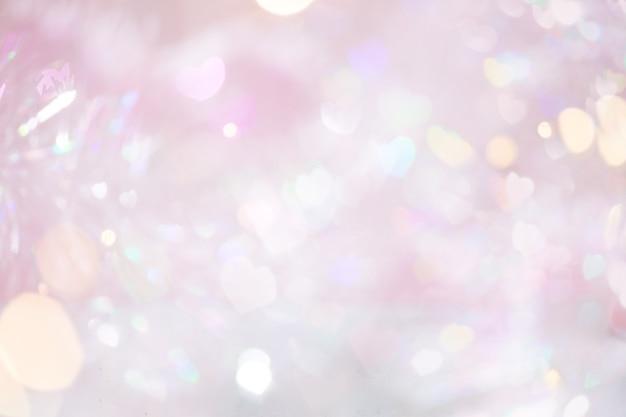 추상 핑크 파스텔 bokeh 조명 배경입니다.