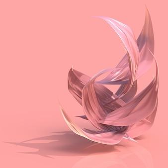 Абстрактные розовые лепестки