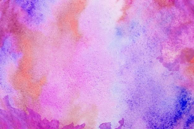 抽象的なピンクの水彩スプラッシュストロークの背景