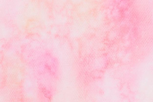 抽象的なピンクの水彩テクスチャ