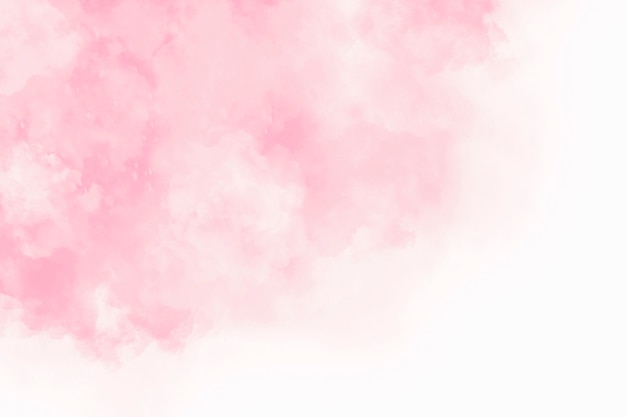 Abstract pink watercolor with cloud texture background