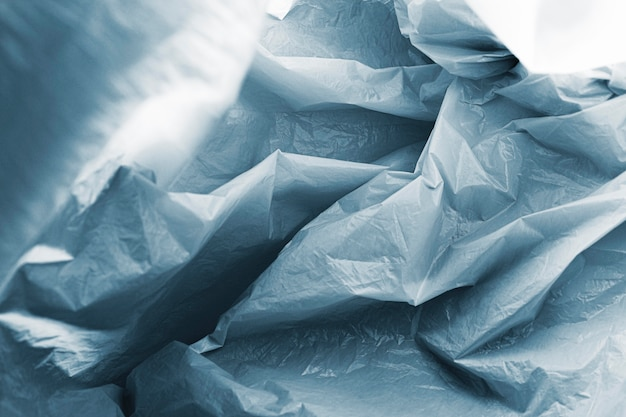 Abstract plastic bag concept