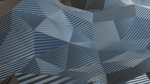 抽象的な神経叢灰色の幾何学的形状のテクスチャと背景