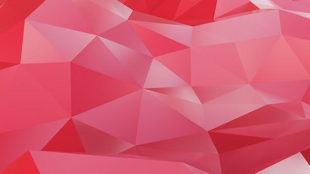 抽象的な神経叢赤い幾何学的形状のテクスチャと背景