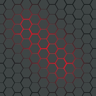 Abstract polygon design pattern for background