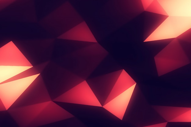 Abstract polygonal modern background