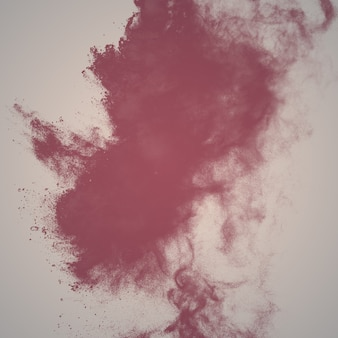 Abstract powder color explosion pastel tone background.