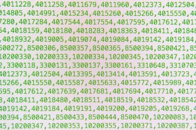 Abstract programming code
