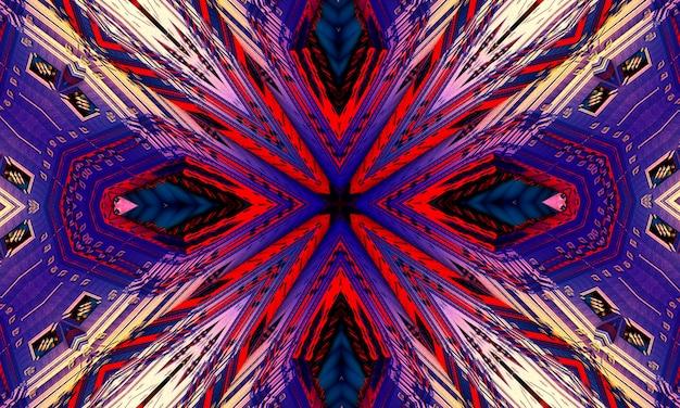 抽象的な紫色の十字架。イエス・キリストの四旬節と情熱のための芸術的なスタイルのデジタルイラスト。