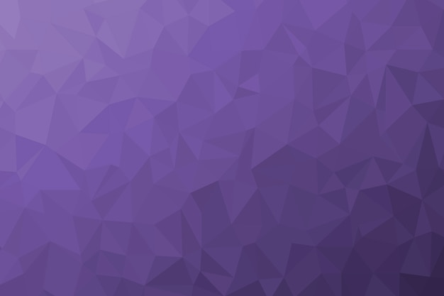 Abstract purple low poly background texture. creative polygonal backdrop illustration