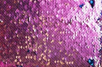 Абстрактный фиолетовый фон с блестками