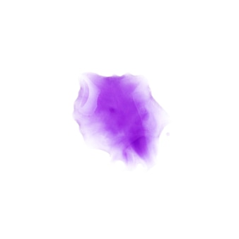 紙の上の紫色の汚れ