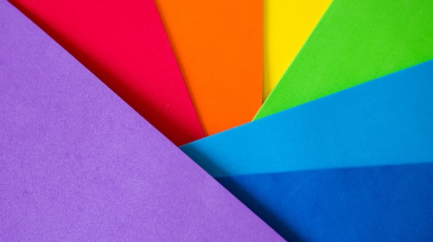 Abstract rainbow background with texture