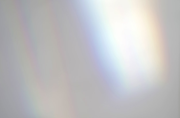 Abstract rainbow rays of light shadow overlay effect from sunlight