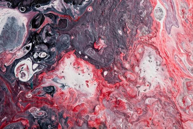 Абстрактная красная и черная современная предпосылка художественного произведения.