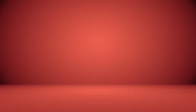 Абстрактный красный фон рождество валентина макет, студия, комната, веб-шаблон, бизнес-отчет с плавным кругом градиентного цвета.