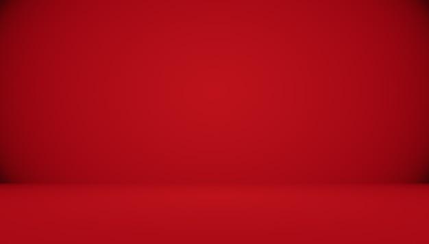 Абстрактный красный фон рождество валентина дизайн макета, студия, комната, веб-шаблон, бизнес-отчет с плавным кругом градиентного цвета.