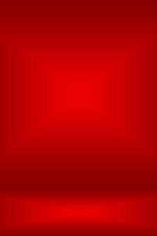 Абстрактные красный фон рождественские валентина макет дизайн, студия, комната, веб-шаблон, бизнес-отчет с гладким кругом цвет градиента.