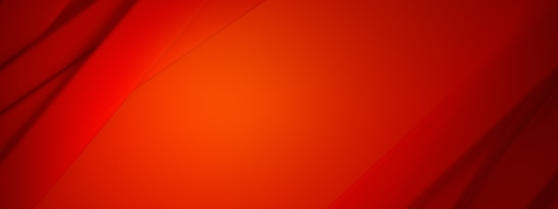 Abstract red background for use in design, 3d render, panoramic layout