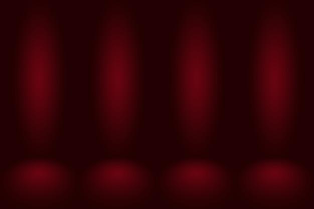 Абстрактный красный фон с плавным кругом градиентного цвета.