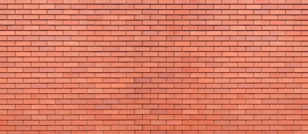 Abstract red brick wall texture background.