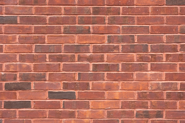 Abstract red bricks wall background