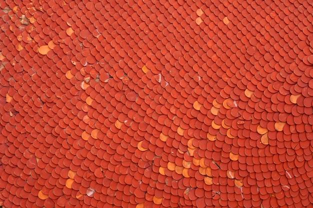 추상 빨간 지붕 타일 배경