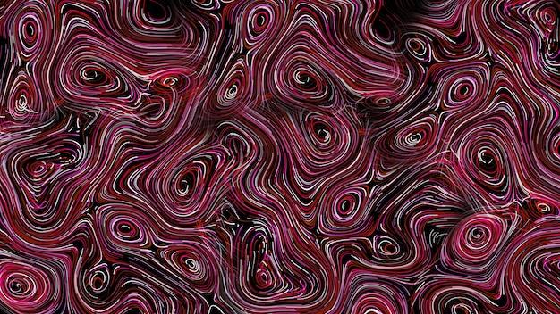 Абстрактный красный фон круглые линии