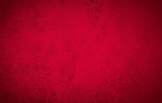Abstract red wall background texture of an old cement wall