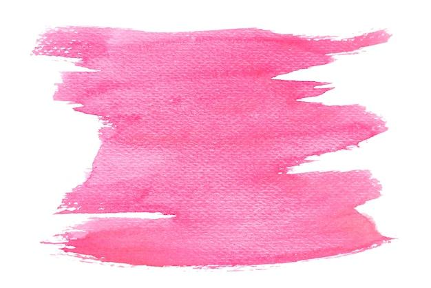 抽象的なレッド水彩、紙の手塗り。