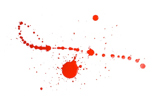 Abstract red watercolor paint splash background. red watercolor splash isolated on white