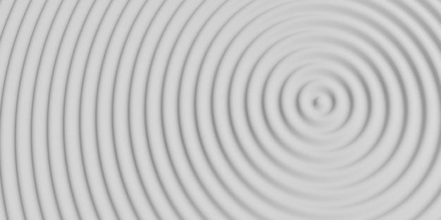 Абстрактный круг рябь волнистый круг воды блестящий фон качания 3d