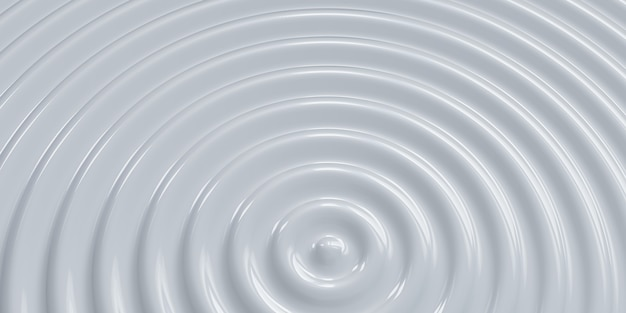 抽象的な波紋の円波状の水円