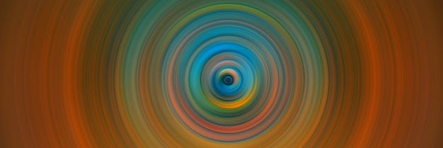 Abstract round orange background. circles from the center point. image of diverging circles. rotation that creates circles.