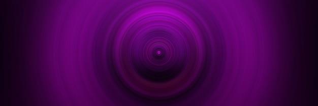 Абстрактный круглый розовый фон. круги от центральной точки. изображение расходящихся кругов. вращение, создающее круги.