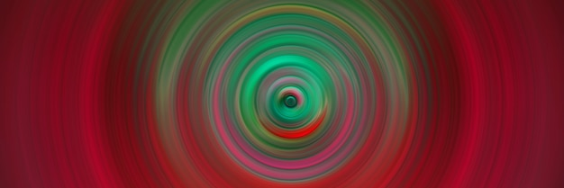 Abstract round red background. circles from the center point. image of diverging circles. rotation that creates circles.
