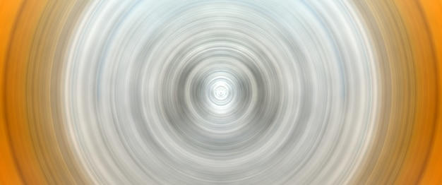 Abstract round white and yellow background