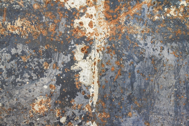 Abstract rusty grungy metal wall