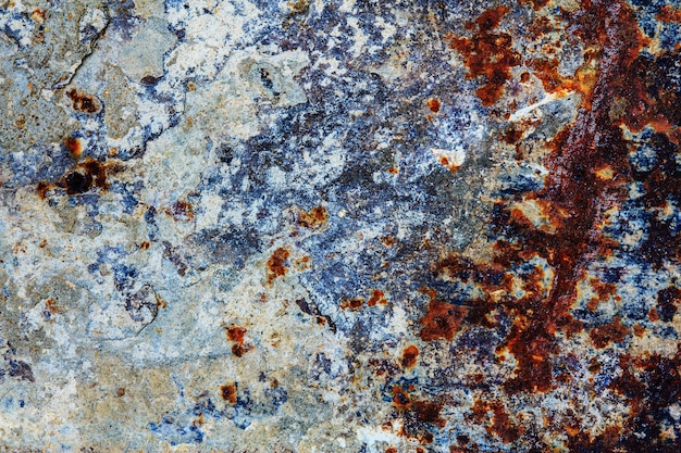 Abstract rusty metal background,