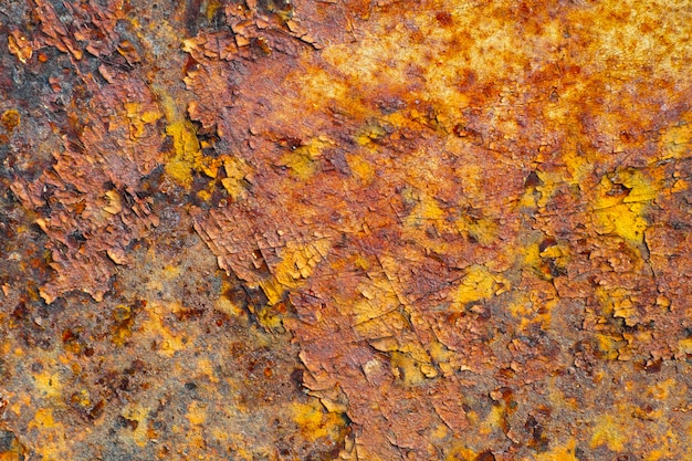 Abstract rusty metal texture, background